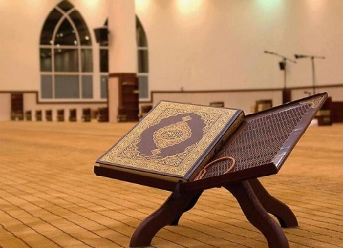Can i recite Quran while taking bath or while giving bath to my child?